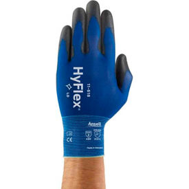 11-618-9 HyFlex; Light Weight Polyurethane Coated Gloves, Ansell 11-618, Size 9, 1 Pair