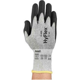 288907 HyFlex; Polyurethane Coated Cut Resistant Gloves, Ansell 11-435, Size 9, 1 Pair