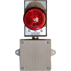 remote audible/visual strobe alarm for panel mounted filtration units, 120 vac, almsth120