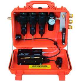 air systems 30 cfm intrinsically safe breather box®, 3 outlets, schrader fitting, bb30-cois