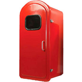 "activar inc. fb™ fiberglass surface mounted outdoor fire extinguisher cabinet, 12-3/4""d, red Activar Inc. FB™ Fiberglass Surface Mounted Outdoor Fire Extinguisher Cabinet, 12-3/4""D, Red"