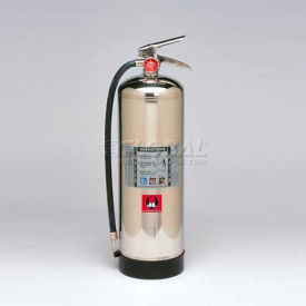 FP02 Fire Extinguisher, 2-1/2 Gallon Water Press, Grenadier
