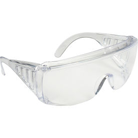 9810 MCR Safety 9810 Yukon; Safety Glasses, Clear Coated Lens