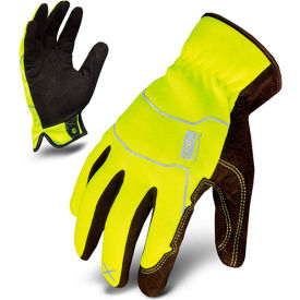 ironclad® exo2-hsy-04-l hi-vis utility safety gloves, slip-on, yellow, 1 pair, l Ironclad® EXO2-HSY-04-L Hi-Vis Utility Safety Gloves, Slip-On, Yellow, 1 Pair, L
