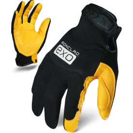 ironclad® exo2-mpld-06-xxl pro utility glove, deerskin/neoprene, yellow/black, 1 pair, 2xl Ironclad® EXO2-MPLD-06-XXL Pro Utility Glove, Deerskin/Neoprene, Yellow/Black, 1 Pair, 2XL