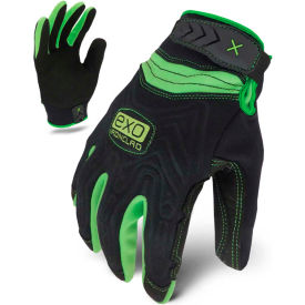 ironclad® exo2-nmtw-02-s motor winter embossed neoprene gloves, black/green, 1 pair, s Ironclad® EXO2-NMTW-02-S Motor Winter Embossed Neoprene Gloves, Black/Green, 1 Pair, S
