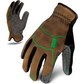 ironclad® exo2-pug-03-m project utility gloves, brown, 1 pair, m Ironclad® EXO2-PUG-03-M Project Utility Gloves, Brown, 1 Pair, M