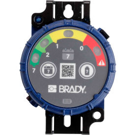 brady® 150740 brady inspection timer, 7 day, 10 pack, led lights, abs plastic, blue Brady® 150740 Brady Inspection Timer, 7 Day, 10 Pack, LED Lights, ABS Plastic, Blue