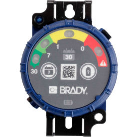 brady® 150741 brady inspection timer, 30 day, 10 pack, led lights, abs plastic, blue Brady® 150741 Brady Inspection Timer, 30 Day, 10 Pack, LED Lights, ABS Plastic, Blue
