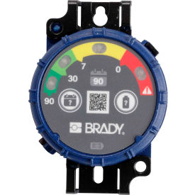 brady® 150742 brady inspection timer, 90 day, 10 pack, led lights, abs plastic, blue Brady® 150742 Brady Inspection Timer, 90 Day, 10 Pack, LED Lights, ABS Plastic, Blue