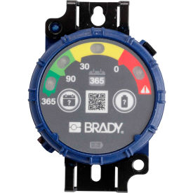 brady® 150744 brady inspection timer, 365 day, 10 pack, led lights, abs plastic, blue Brady® 150744 Brady Inspection Timer, 365 Day, 10 Pack, LED Lights, ABS Plastic, Blue