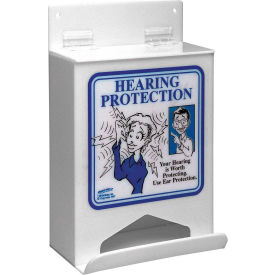 "brady® epdisp hearing protection dispenser, acrylic, 7-3/4""w x 9-3/4""h Brady® EPDISP Hearing Protection Dispenser, Acrylic, 7-3/4""W x 9-3/4""H"