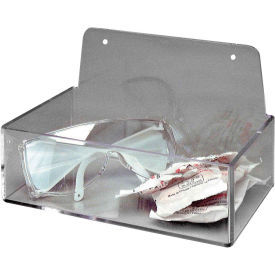 "brady® pd205a clear acrylic dispenser tray, acrylic, 9""w x 3""h Brady® PD205A Clear Acrylic Dispenser Tray, Acrylic, 9""W x 3""H"