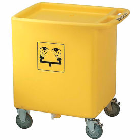 "S19-399 Bradley; S19-399 Waste Cart Assembly for S19-921, 29-3/4"" x 22-1/3"" x 33"", 56 Gallon Capacity"