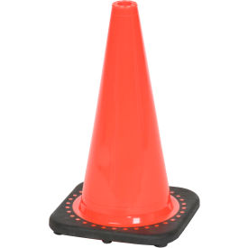 "03-500-05 18"" Traffic Cone, Non-Reflective, Orange W/ Black Base, 3 lbs, 03-500-05"