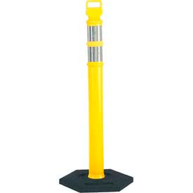 "03-747Y 45"" Yellow Ez Grab Delineator Post W/2ea 3"" Hi Reflective"