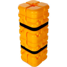 "column sentry® fit column protector, 4""- 8"" square openings, 16"" o.d. x 42""h"", ylw, cs-fit-s-y Column Sentry® FIT Column Protector, 4""- 8"" Square Openings, 16"" O.D. x 42""H"", Ylw, CS-FIT-S-Y"