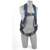 1109357 ExoFit; Vest Style Harness 1109357, W/Back D-Ring, Loops For Belt, Tongue Buckle Legs, XL