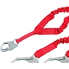 1340161 Protecta; 1340161 PRO Stretch Shock Absorbing Lanyard, 6L, 130-310 Cap Lbs