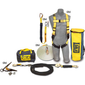 3m™ dbi-sala® 7611907 2 person roofers fall protection kit - hll system 3M™ DBI-SALA® 7611907 2 Person Roofers Fall Protection Kit - HLL System