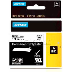 "rhino 1"" white permanent poly labels Rhino 1"" White Permanent Poly Labels"