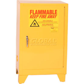 1924LEGS Eagle Flammable Liquid Tower; Safety Cabinet with Self Close - 12 Gallon