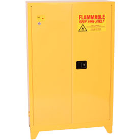 1947LEGS Eagle Flammable Liquid Tower; Safety Cabinet with Manual Close - 45 Gallon