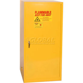 1961 Eagle Flammable Liquid Safety Cabinet with Manual Close - 60 Gallon