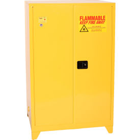 1992LEGS Eagle Flammable Liquid Tower; Safety Cabinet with Manual Close - 90 Gallon