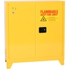 3010LEGS Eagle Flammable Liquid Tower; Safety Cabinet with Self Close - 30 Gallon