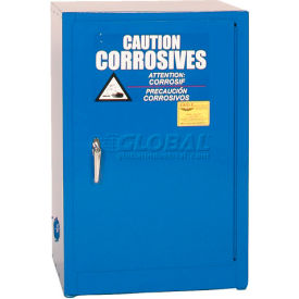 CRA-1925 Eagle Acid & Corrosive Cabinet with Manual Close - 12 Gallon