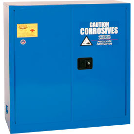 CRA-30 Eagle Acid & Corrosive Cabinet with Sliding Self Close - 30 Gallon