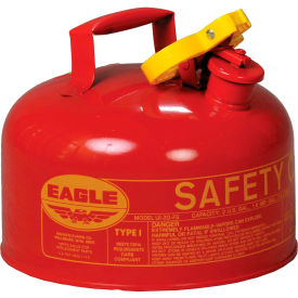 UI-20-S Eagle Type I Safety Can - 2 Gallons - Red, UI-20-S