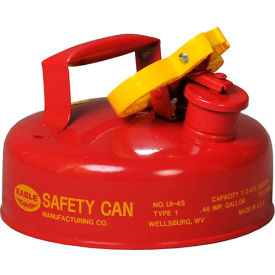 UI-4-S Eagle Type I Safety Can - 2 Quarts - Red, UI-4-S