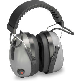 elvex® level dependent™ electronic earmuff with impulse filter, nrr 25, gray Elvex® Level Dependent™ Electronic Earmuff with Impulse Filter, NRR 25, Gray