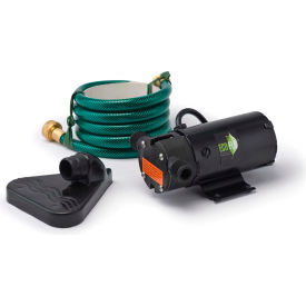 eco-flo pup61 portable light weight utility pump w/6 ft garden hose & extra impeller kit - 360 gph Eco-Flo PUP61 Portable Light Weight Utility Pump W/6 Ft Garden Hose & Extra Impeller Kit - 360 GPH
