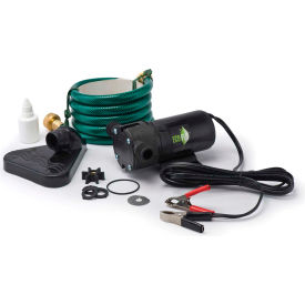 eco-flo pup61dc portable light weight utility pump w/6 ft garden hose & suction accessory -360 gph Eco-Flo PUP61DC Portable Light Weight Utility Pump W/6 Ft Garden Hose & Suction Accessory -360 GPH