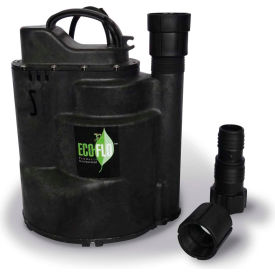 eco-flo sup57 submersible utility pump, automatic, 1/4 hp, 1800 gph Eco-Flo SUP57 Submersible Utility Pump, Automatic, 1/4 HP, 1800 GPH