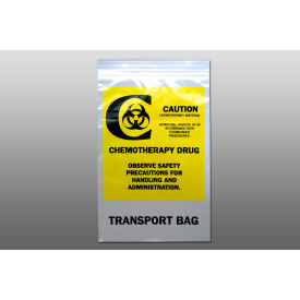 "chemo transfer bag - seal top reclosable, 4 mil, 6"" x 9"", pkg qty 1000 Chemo Transfer Bag - Seal Top Reclosable, 4 mil, 6"" x 9"", Pkg Qty 1000"