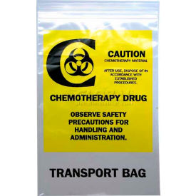 "chemo transfer bag - seal top reclosable, 2 mil, 6"" x 9"", pkg qty 1000 Chemo Transfer Bag - Seal Top Reclosable, 2 mil, 6"" x 9"", Pkg Qty 1000"