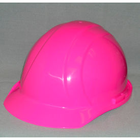 19769 ERB; 19769 Americana Hard Hat, 4-Point Pinlock Suspension, Hi-Viz Pink