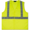61426 Aware Wear; ANSI Class 2 Economy Mesh Vest, 61426 - Lime, Size L