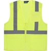 61649 Aware Wear; ANSI Class 2 Economy Mesh Vest, 61649 - Lime, Size XL