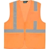61659 Aware Wear; ANSI Class 2 Economy Mesh Vest, 61659 - Orange, Size L