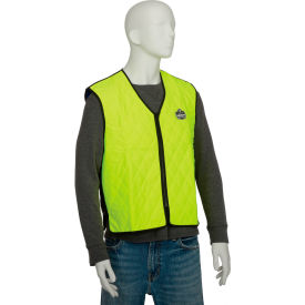 12535 Ergodyne; Chill-Its; 6665 Evaporative Cooling Vest, Lime, XL