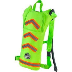 13156 Ergodyne; Chill-Its; Hi-Vis Low Profile Hydration Pack, Lime, 2 Liter