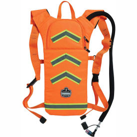 ergodyne® chill-its® 5155hv hi-vis low profile hydration pack, orange, 2 liter Ergodyne® Chill-Its® 5155HV Hi-Vis Low Profile Hydration Pack, Orange, 2 Liter
