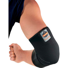 16582 Ergodyne; Proflex; 655 Neoprene Elbow Sleeve with Strap, Black, Small