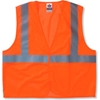 20967 Ergodyne; GloWear; 8205HL Class 2 Super Econo Vest, Orange, 2XL/3XL