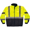 25624 Ergodyne;GloWear; 8377 Type R Class 3 Quilted Bomber Jacket, Lime, L, 25624